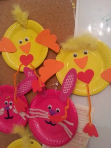 Easter crafts at Ambleside